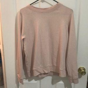 Soft light pink sweater